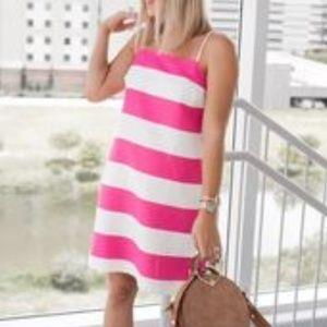 Cece Cynthia Steffe Carnival Stripe Dress
